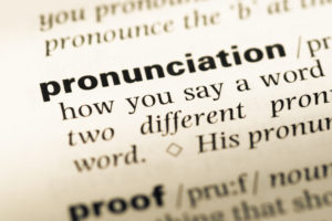 A dictionary isn't the only place you can learn the pronunciation of English language.