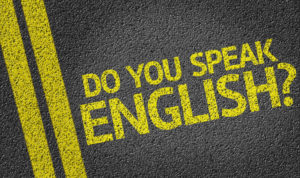 It is becoming more and more common for people to communicate in English.