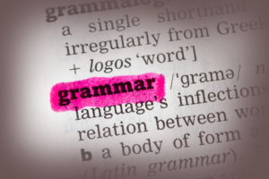 Read this article to learn about good grammar in English!